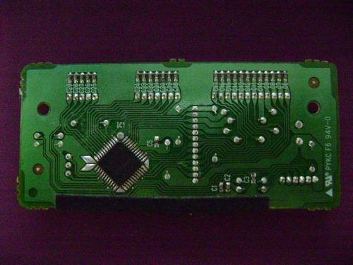 placa comando teclas mks teclado yamaha psr550 s03