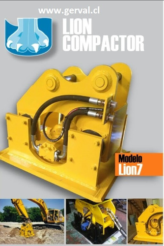 placa compactadora para retroexcavadora