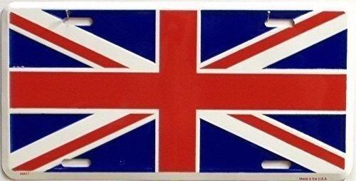 placa con la bandera de gran bretaña inglaterra! - bs. 349.395,45