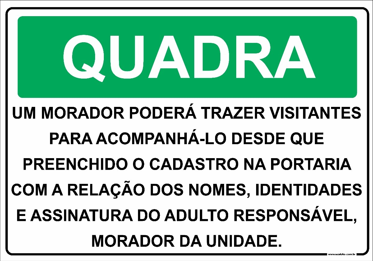 c4d84c303 Placa Condomínio Quadra De Esportes Regras Normas Para Uso - R  16 ...