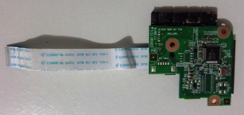placa conector leitor cartao sd netbook philco phn10a r123ws
