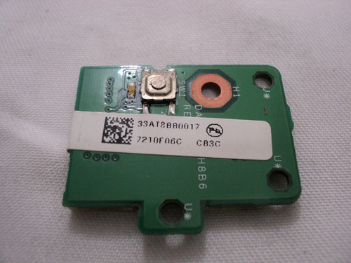 placa conector on off daat8ath8b6ara hp pavilion dv6230br