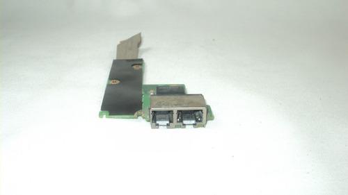 placa conector rede rj45/rj11 notebook lenovo thinkpad sl400