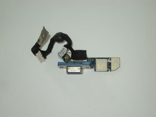 placa conector vga + flat toshiba satellite x200 dc02000gc00