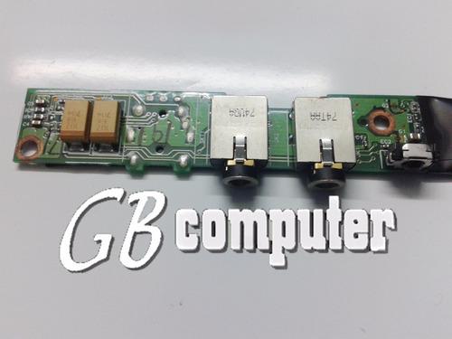 placa conectores audio notebook compaq v3000 c/garantía!