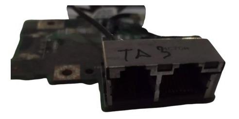 placa conexion de red rj45 toshiba tecra ta3 ls-2498
