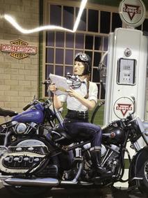 Auto & Motorrad: Teile Harley Davidson HD Riding Bell suerte campana Poker póker