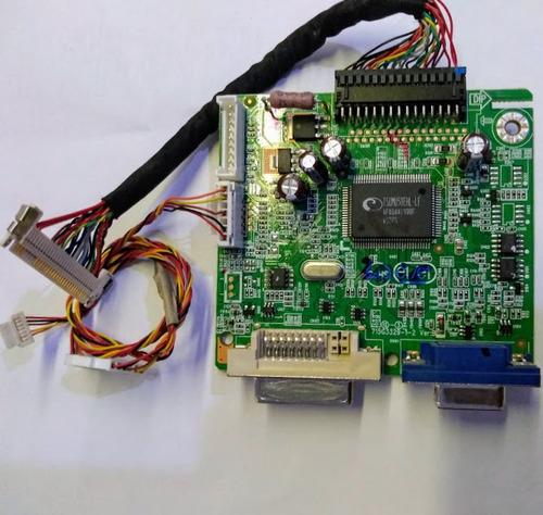 placa controladora monitor aoc 2036va