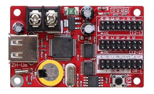 placa controladora para painel de led zh-um