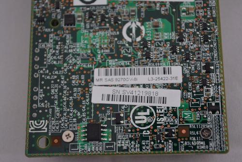 placa controladora sas 6gb's lsi megaraid sas 9270cv-8i