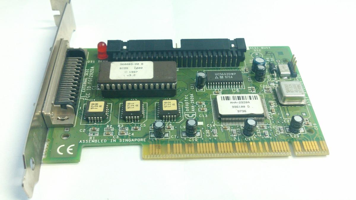 ADAPTEC AHA-2920 DRIVER FOR WINDOWS MAC