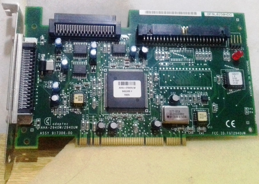 adaptador de host scsi adaptec aha-151x