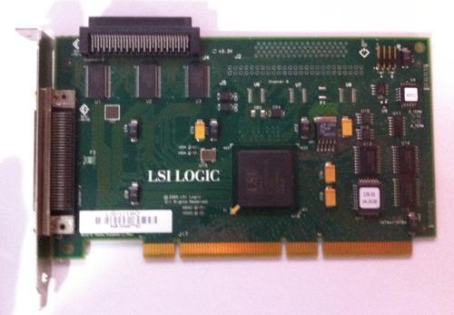 placa controladora ultra scsi pci-x lsi logic - lsiu160