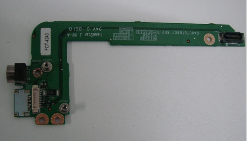 placa controladora video hp pavilion ze2410  pn: da0ct8tb6d7