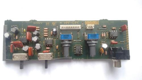 placa controle volume subwoofer ativo sony sa-wms366