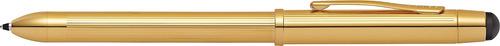 placa cruz tech 3 + 23kt oro multifunción pluma (at0090-12)