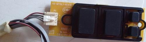 placa da chave de toque + teclado de função tv philco ph32.e