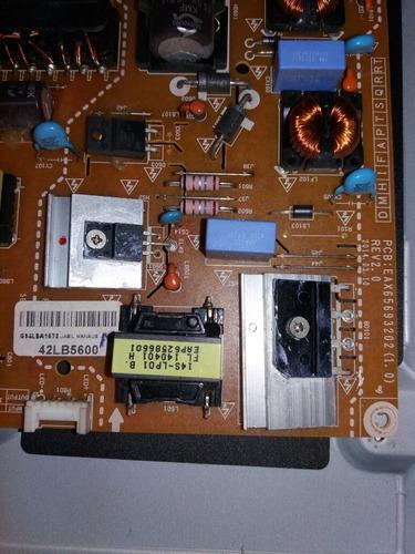 placa da fonte de tv lg 39lb5600 eax65693202(1.0)