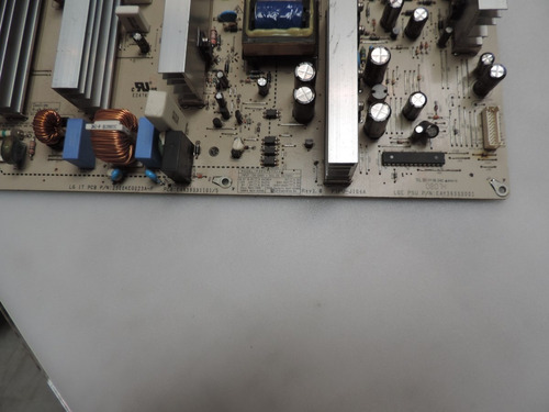 placa da fonte lg 42pg20r cód eax39331101/8
