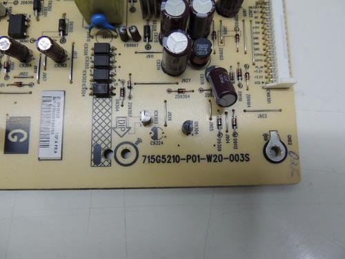 placa da fonte sony  kdl32bx355(715g5210-p01-w20-003s)