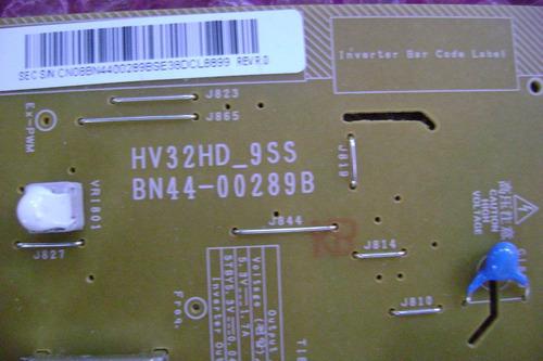 placa da fonte tv lcd samsung ln32b350 bn44-00289b