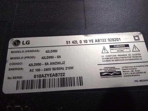 placa  da  fonte  tv  lg 42ld650
