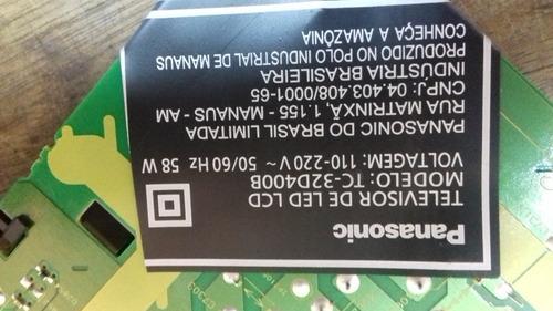 placa da fonte tv panasonic mod: tc-32d400b