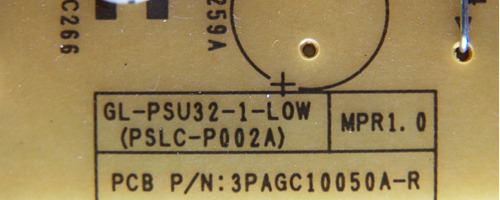 placa da fonte tv philips 32pfl3406d 3pagc10050a-r