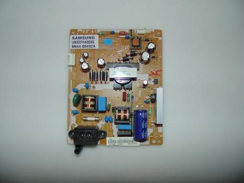 placa da fonte tv samsung un32fh4003g bn44-00492a