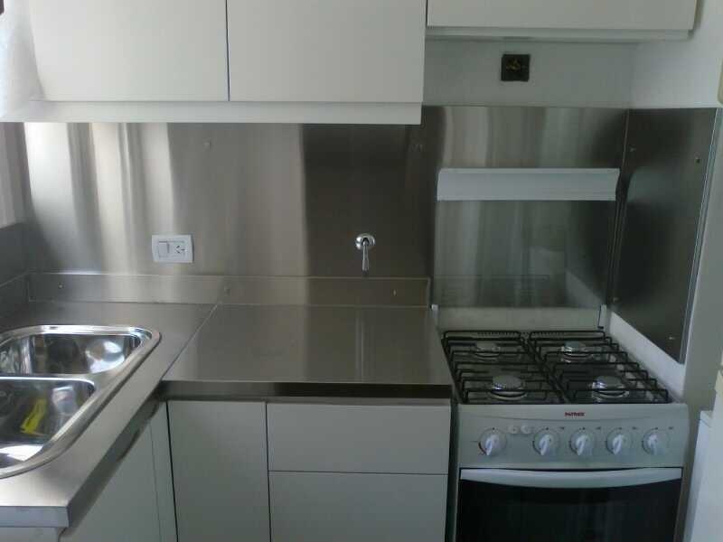 Placa De Acero Inoxidable 60cm Para Cocina Ulinox - $ 633,36 en ...