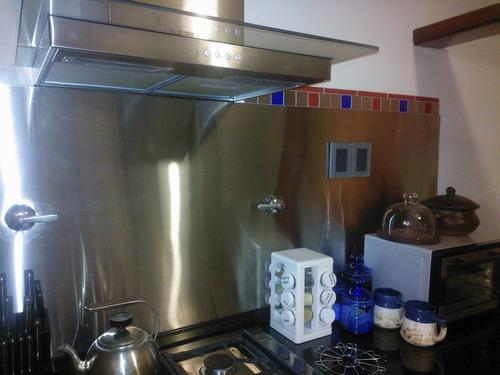 placa de acero inoxidable para cocina ulinox