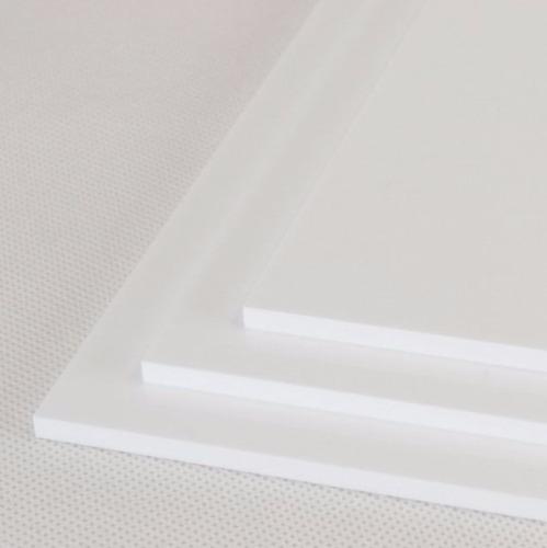 placa de acrilico blanco - 2,4mm - corte de 60x40cm