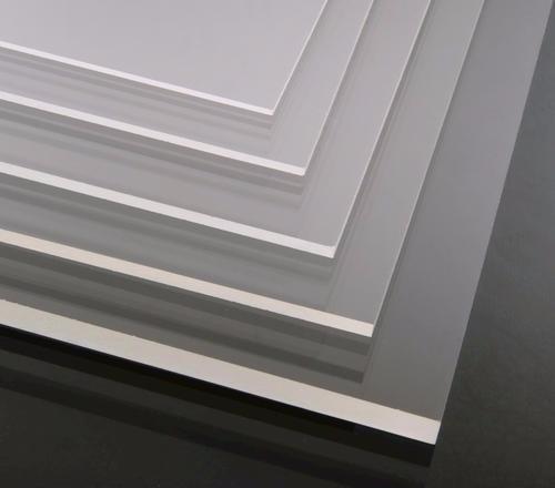 placa de acrilico colado cristal - 3mm - corte de 60x40cm