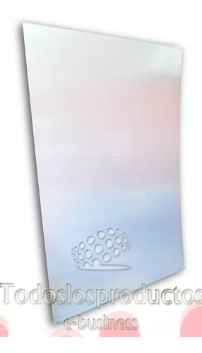 placa de aluminio para sublimar de 40x60 3 colores 10 piezas