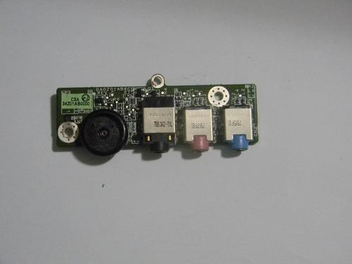 placa de áudio acer - model 4720z - p/n da0z01ab6c0  cód. 38
