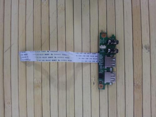 placa de audio e usb notebook cce win i30s