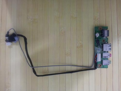 placa de audio e usb notebook positivo mobile z501
