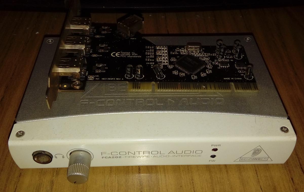 Placa De Audio Externa Behringer Fca 202 Firewire Calidad - $ 1 499,00