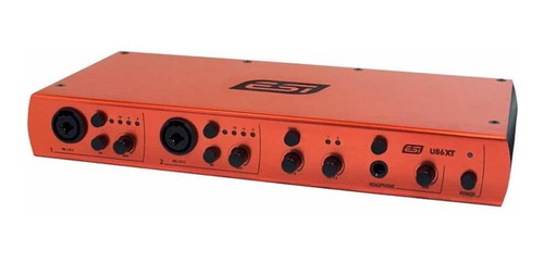 placa de audio interface midi usb esi u86xt 8 canales nueva