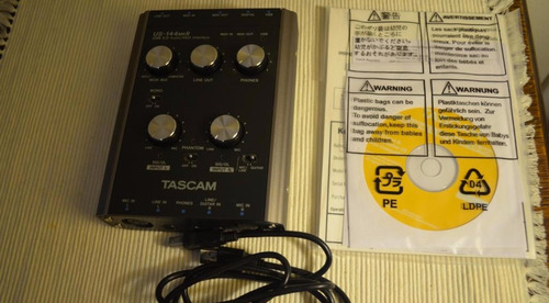 placa de audio / interfaz de audio usb tascam us-144 mkii