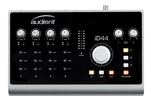 placa de audio usb audient id44 interfaz de sonido