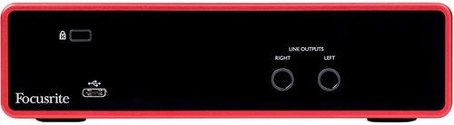 placa de audio usb focusrite scarlett 2i2 3ra generacion