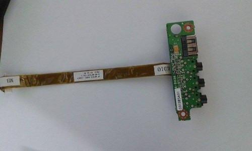 placa de audio+usb positivo premium p/n: 6-71-m74sa-d03a