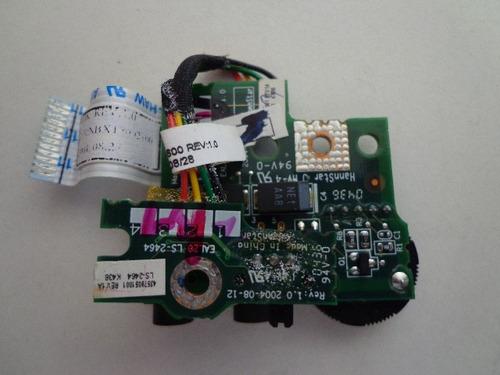 placa de audio,de som toshiba m35x-s149