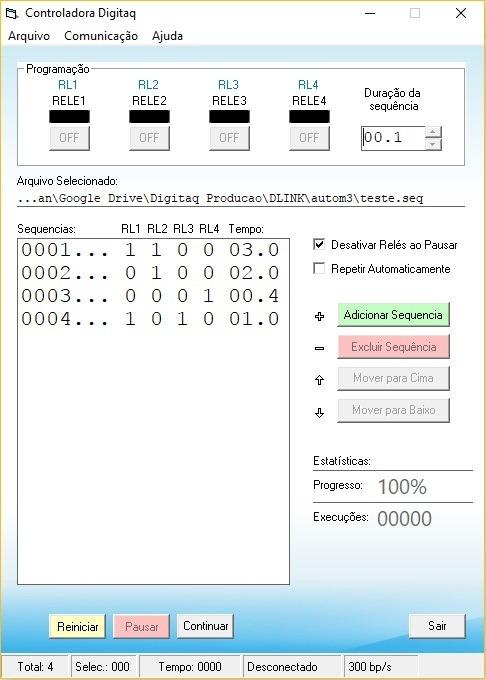 Placa De Automação Rele Visual Studio Delphi Arduino
