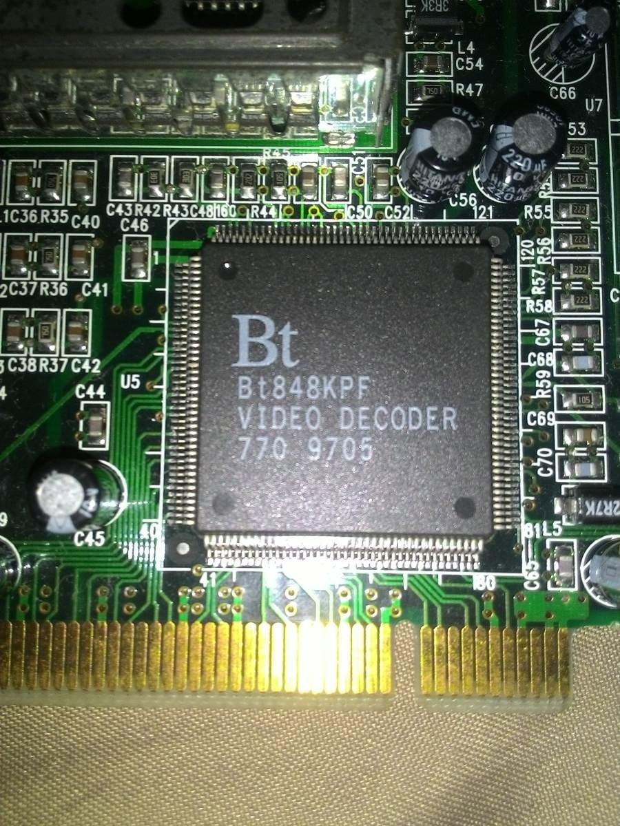Bt848kpf video decoder driver download.