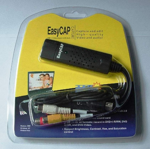 placa de captura easycap  02  box