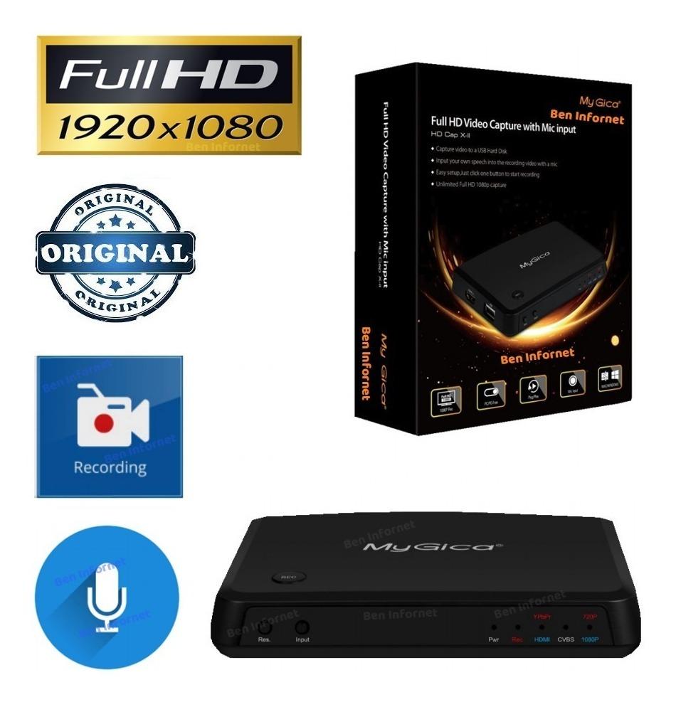 Placa De Captura Full Hd 1080p Game Xbox 360 One Ps3 Ps4