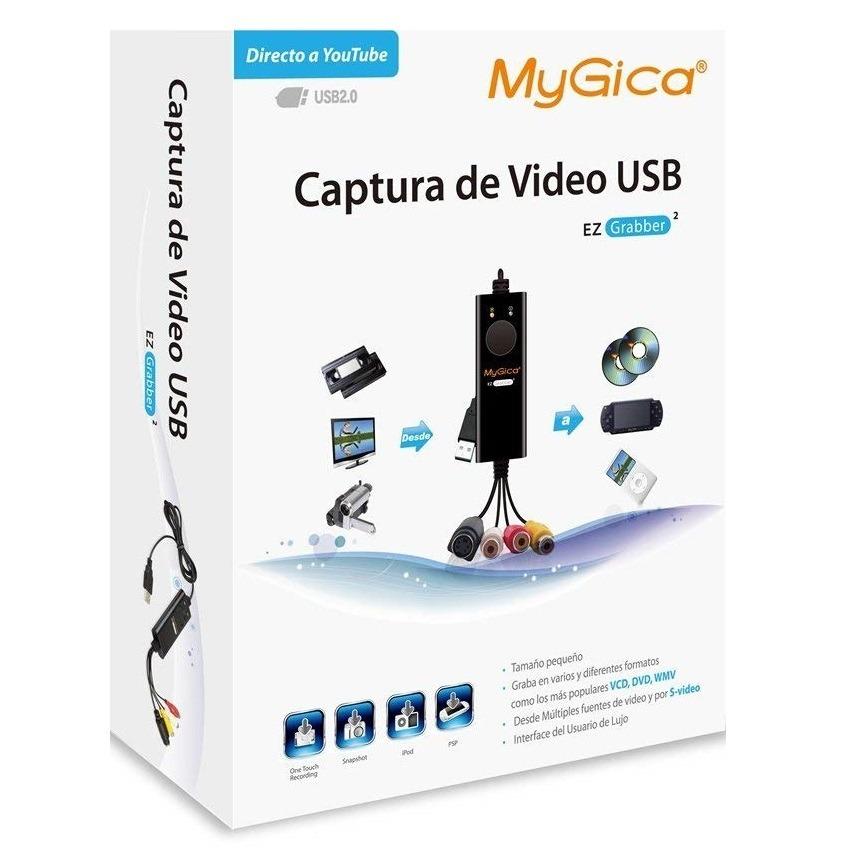 7d0abf34d6f placa de captura usb audio e vídeo mygica rca vhs. Carregando zoom.