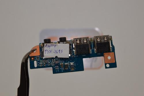placa de circuito integrado usb/audio acer modelo 4551-2615
